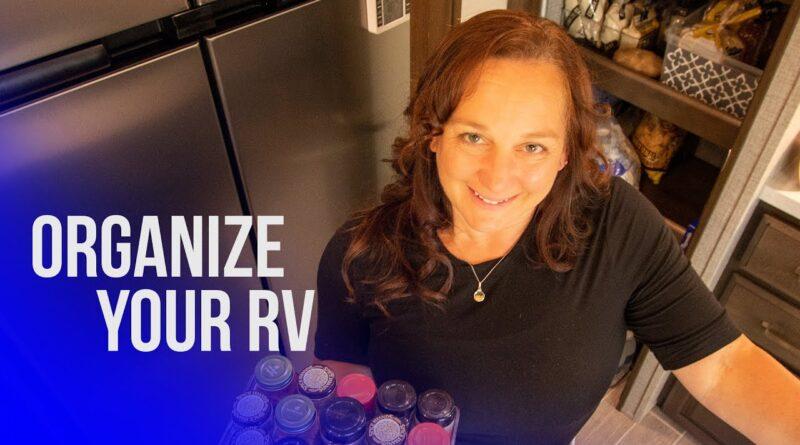 RV Organization for RV NEWBIES | RV Organization Hacks & Tips