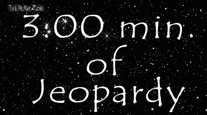 3 Minutes Timer of Jeopardy in Space