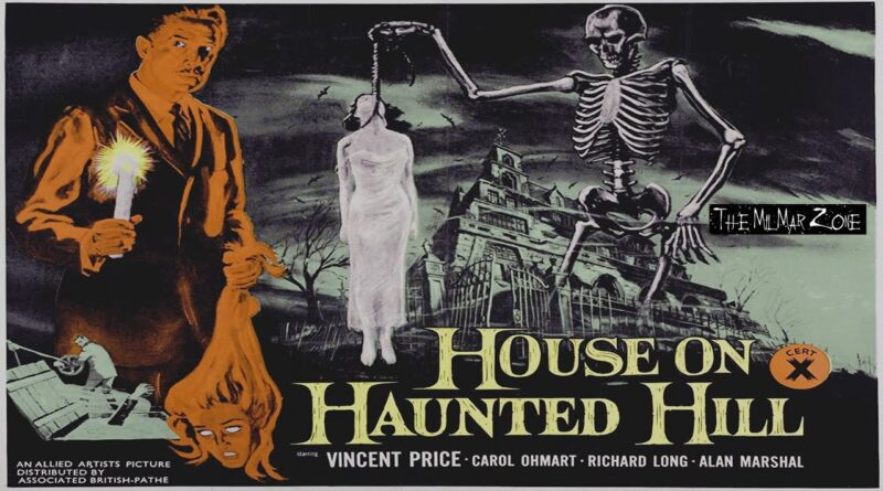 House on Haunted Hill 1959  — A Horror  Movie Full Length