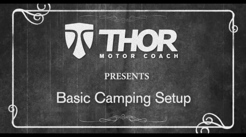Basic RV Camp Set Up