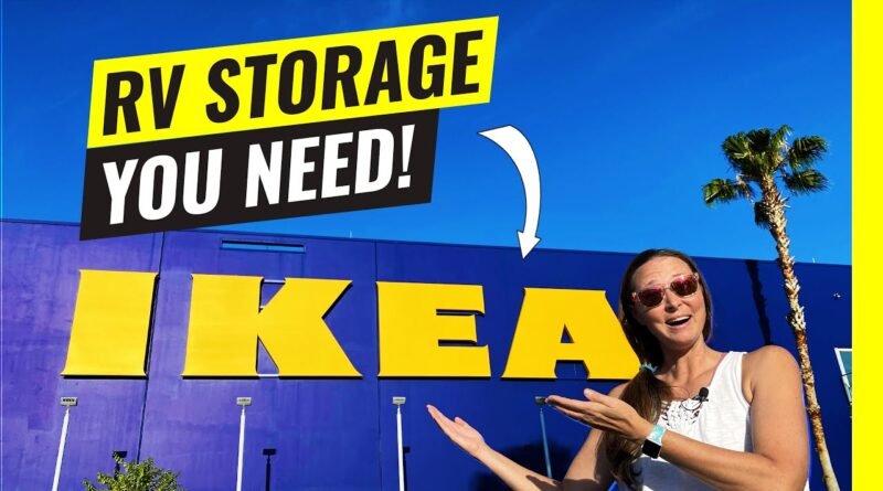 RV Storage! 11 Must Haves From IKEA for RV Living (RV Organization)