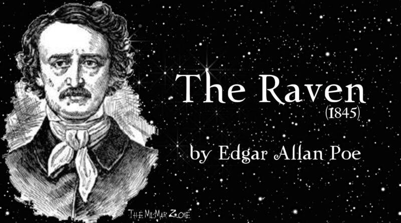 The Raven by Edgar Allan Poe (1845)