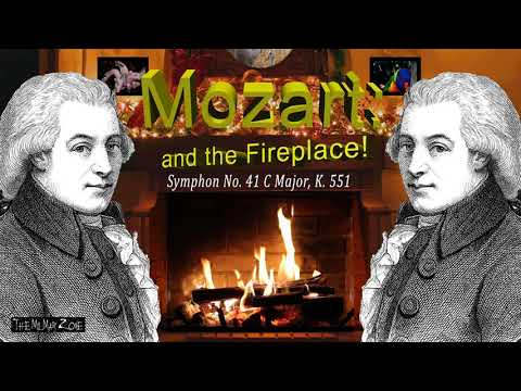 Classic Music Mozart Symphony no 41 C major k 551