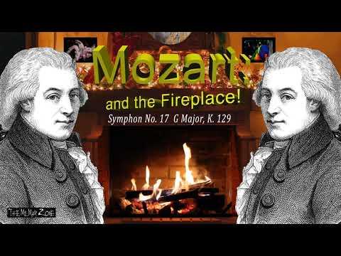 Classic Music Mozart Symphony no 17 G Major k 129