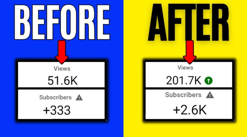 HAVE MORE VIEWS BUT LESS SUBSCRIBERS | How To Get More Subscribers on YouTube Organically
