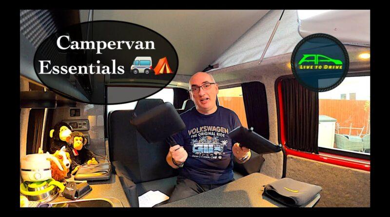 Vanlife Campervan Essentials | Equipment & Accessories for your Camper