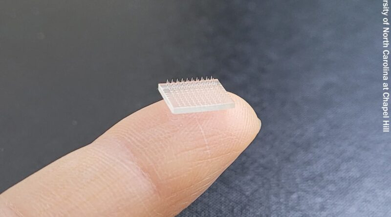 Scientists Use 3D Printing to Create Injection-Free Vaccine Patch