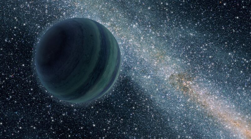 A Jupiter-Like Rogue Planet Wanders Alone in Space